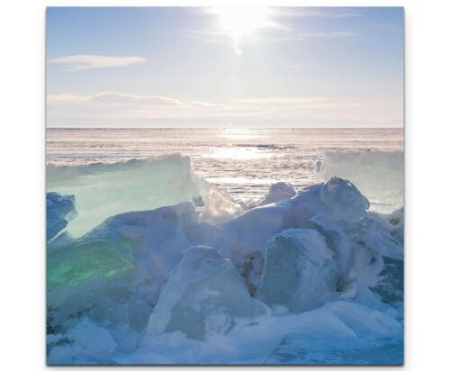 Baikalsee im Winter Leinwandbild