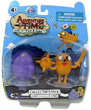 "ADVENTURE TIME with FINN & JAKE Collection_LUMPY SPACE PRINCESS & JAKE 2 "" figs."