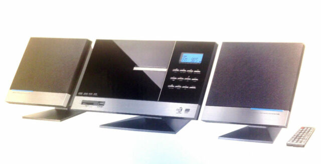 Design Vertikal Musik Anlage CD MP3 Stereo PLL Radio Stereoanlage USB ID-3
