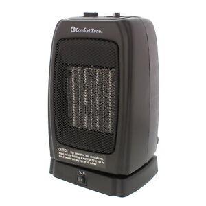 Comfort Zone CZ448 Oscillating Portable Ceramic Space Heater