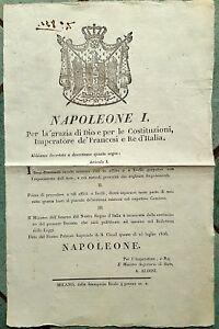 1285-PERIODO NAPOLEONICO, TERRENI COMUNALI INCOLTI DATI IN AFFITTO O ALTRO, 1806 - Italia - 1285-PERIODO NAPOLEONICO, TERRENI COMUNALI INCOLTI DATI IN AFFITTO O ALTRO, 1806 - Italia