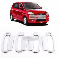 Chrome Door Catch Molding Garnish Cover Trim K437 8P for KIA 2004-2007 Picanto
