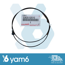 Genuine Toyota Yaris 2002-2005 Bonnet Lock Cable 53630-52090