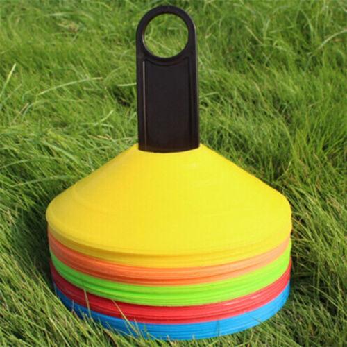 Markierungshütchen Markierungsteller 50 Stück Trainingshütchen Fußballtraining