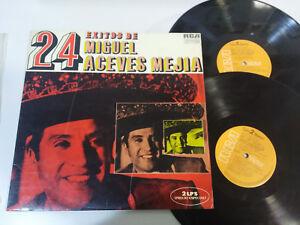 MIGUEL-Aceves-Mejia-24-exitos-de-Rca-1972-Klappcover-2-X-LP-vinyl-12-034-VG-VG