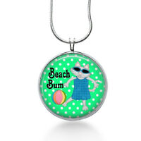 Beach Bum Necklace - Beach Lover Jewelry - Necklaces For Women - Christmas Gifts