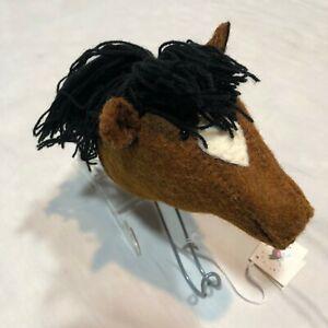 Coat Hooks Children S Clothes Felt Animals Handmade Uk Artist 7 New Ebay
