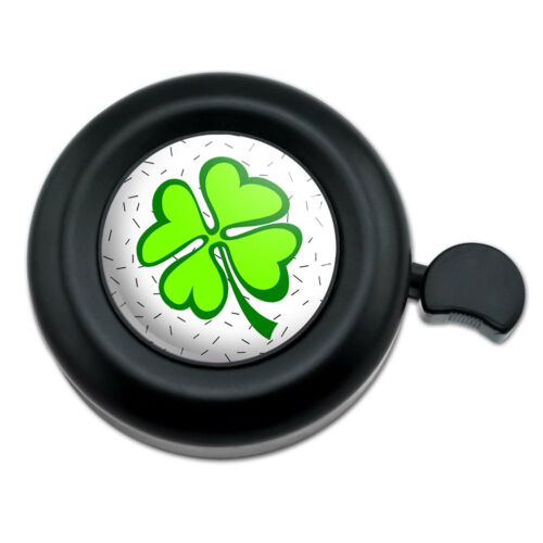 Bicycle Handlebar Bike Bell Lots of Luck Lucky Irish Four Leaf Clover