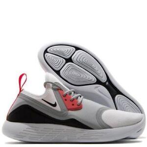 35d884c2d0 Nike Lunarcharge BN 933811-010 Men's Wolf Grey/White-Black Running ...