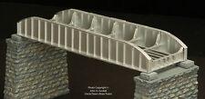 BRASS PBA 1015-2 63.5 FOOT PONY PLATE GIRDER BRIDGE 1-TRACK F/P SILVER