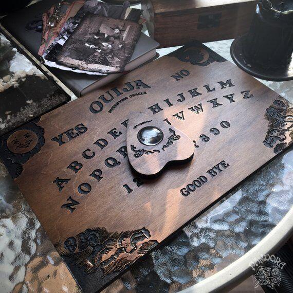 Tabla Ouija, clásico-Hecho a Mano Tabla Ouija