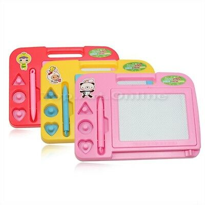 Baby Magnetic Drawing Board With Pen Toddler Doodle Writing Sketch Pad Toys UK