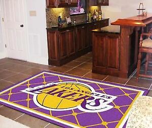 FANMATS 9299 NBA Los Angeles Lakers Rug 5x8 60