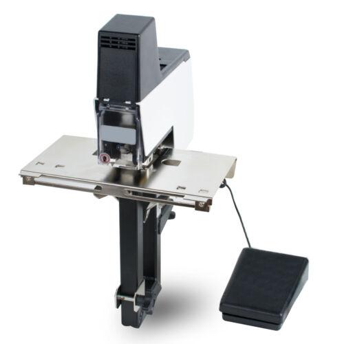 Electric  Book Binding Machine Auto Rapid Stapler Flat+Saddle Binder Machine G