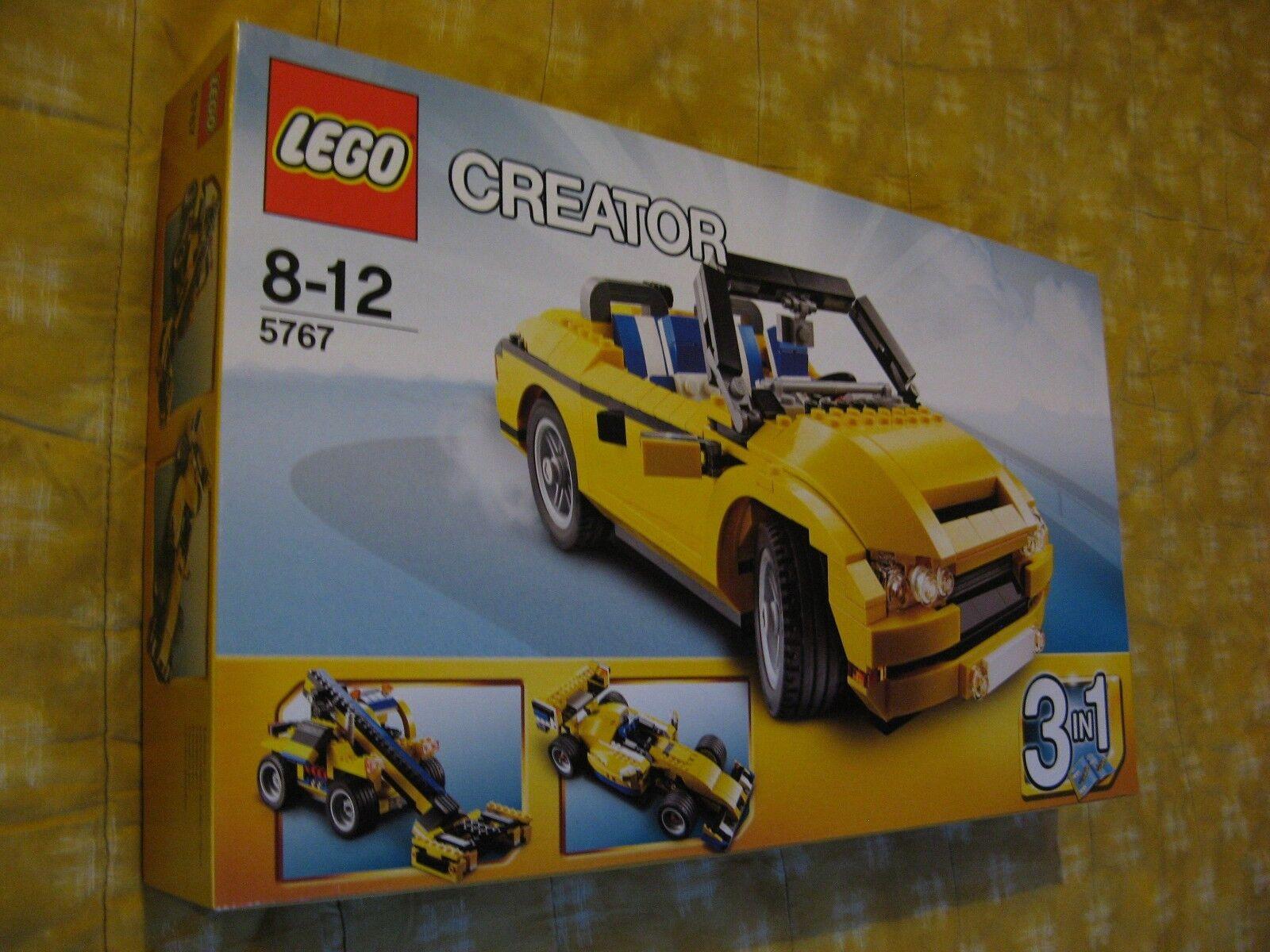 LEGO CREATOR 5767 VOITURE CABRIOLET TECHNIC COOL COOL COOL CRUISER TECHNIK CAR FERRARI NEW 65e248