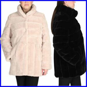 Kristen-Blake-Women-039-s-Ladies-039-Faux-Fur-Coat-Jacket-Size-S-M-L-XL-NWT