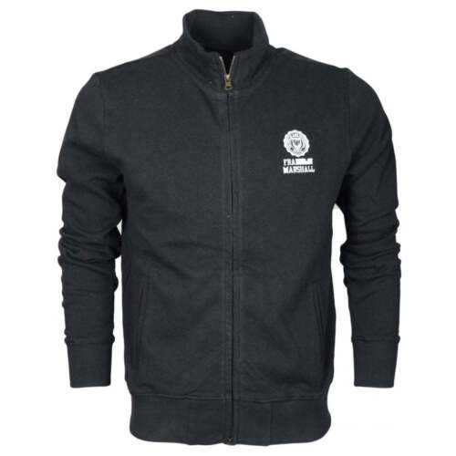 Cotton Up Zip Fleece Marshall 242an Franklin Black zqRAwE