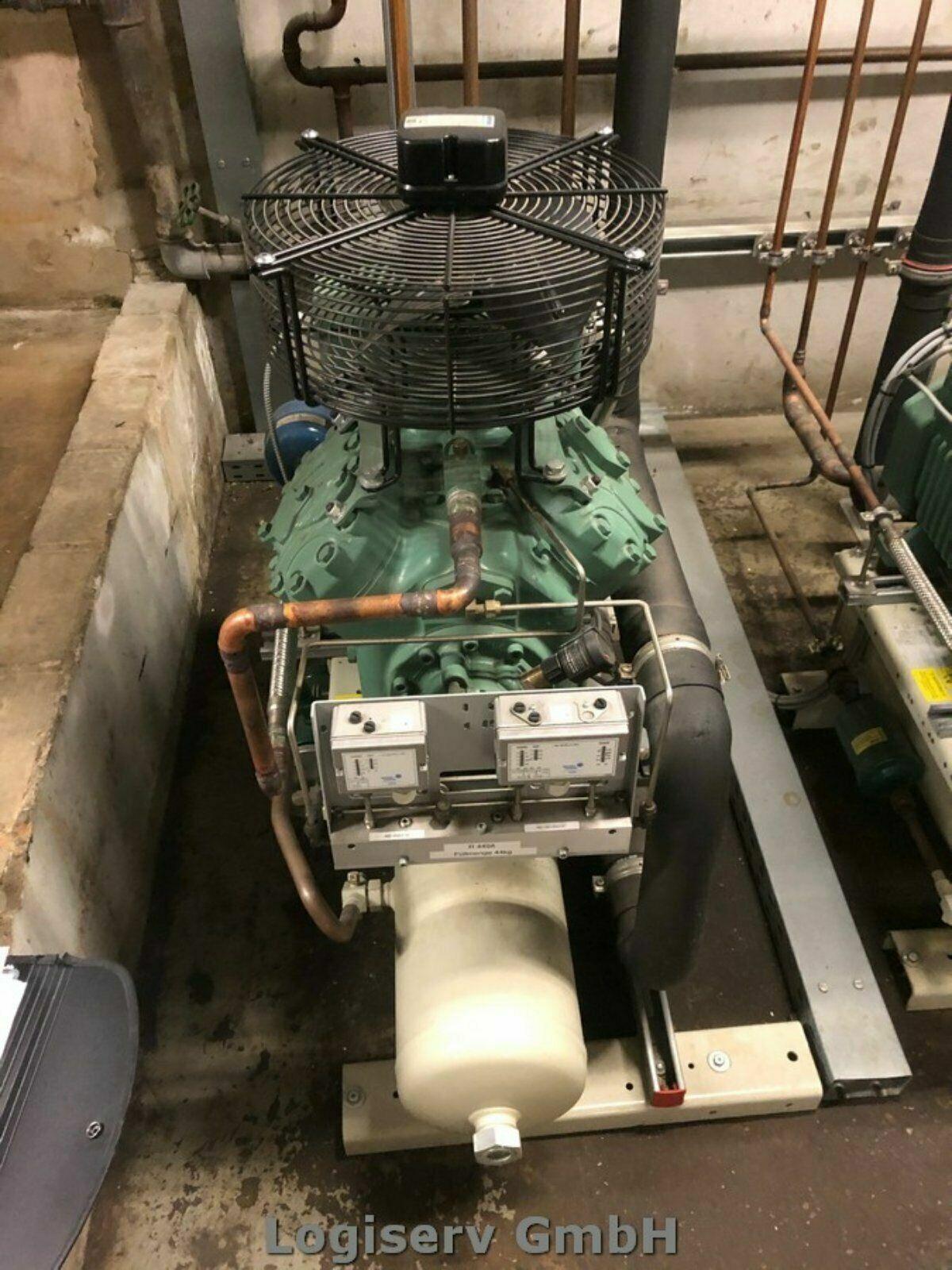 Bild 1 - Kaelteanlage-Kuehlanlage-Verdichter-luftgekuehlt-Axial-Verfluessiger