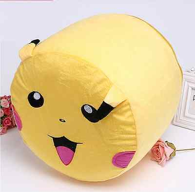 Halloween Xmas Gift Pokemon Pikachu Inflatable Sofa Chair  Bean Bags for Kids