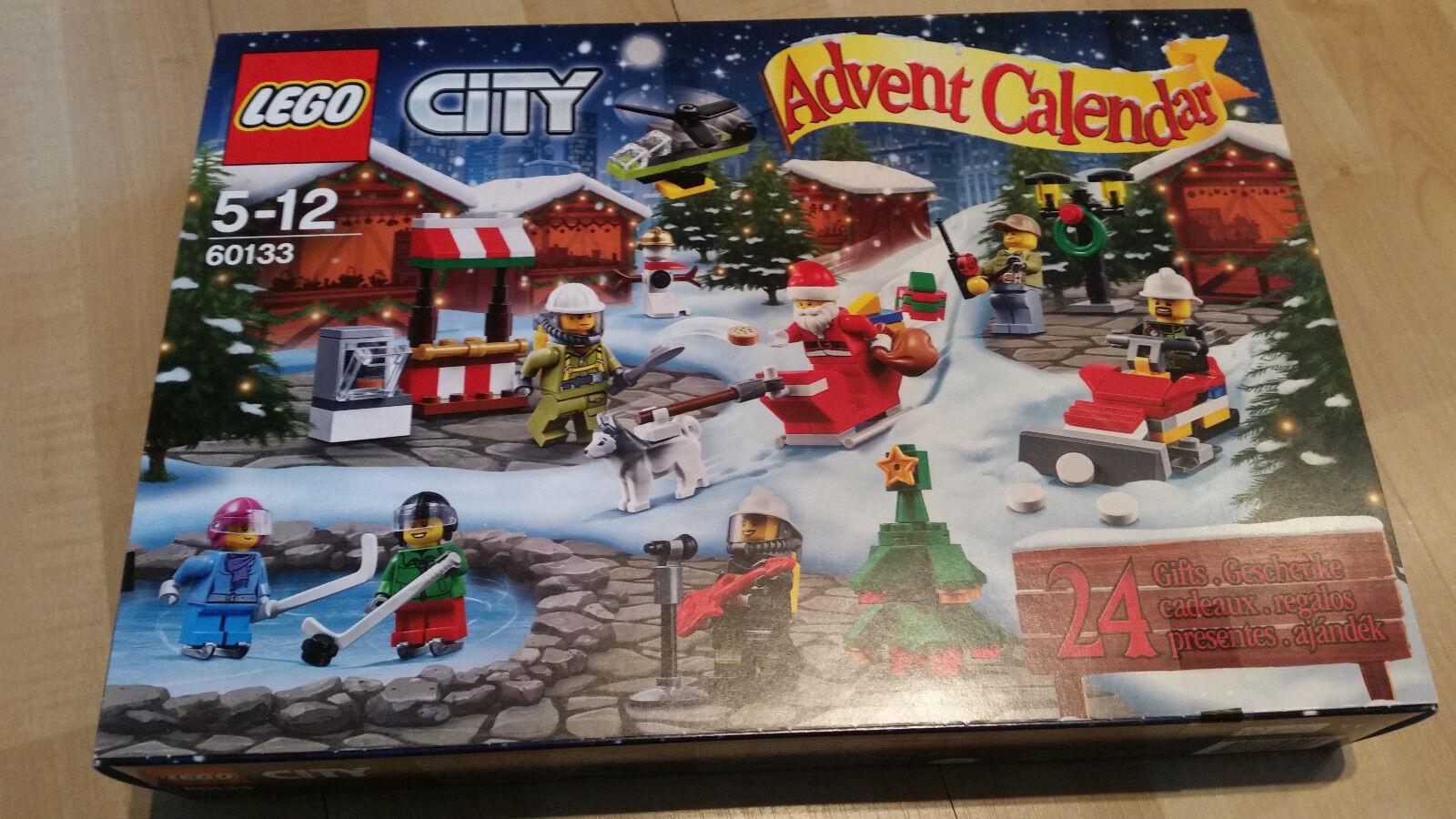 LEGO 60133 City Adventskalender NEU versiegelt ungeöffnet OVP