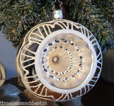 "RBWP Old World Inge Glas 2,25/""  Reflex Ball Handmade Glass Christmas Ornament"