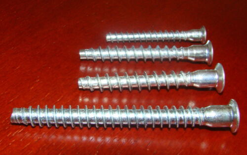 7.0x50 7x70 x25 Confirmat Screws for Wood//Chipboard furniture 6.4x50 5.0x40mm