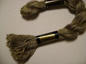 DMC-coton-perle-N-5-et-N-642-pour-la-couleur-long-25-metres-QUANTITE-5