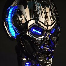 Terminator TX – T3 1:1+ LED, /props model head skull cosplay  DA ITALIA