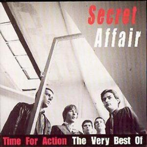 Secret Affair : Time For Action - The Very Best Of Secret Affair CD (1997)