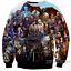 New Fashion Women//Men Game of Thrones 3D Print Casual Sweatshirts TR12