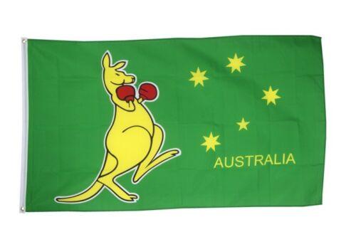 Australie kangourou Hissflagge Australien drapeaux drapeaux 60x90cm