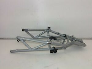 2010-DUCATI-HYPERMOTARD-796-COMPLETE-SEAT-FRAME-SUBFRAME-SILVER