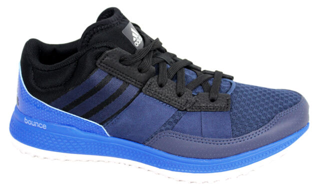 49e246f8e14bc adidas Bounce Navy Blue Trainers Cross Training Mens Shoes SNEAKERS ...