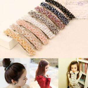 Fashion-Girls-Headwear-Bling-Crystal-Rhinestone-Hair-Clip-Hairpin-Barrette
