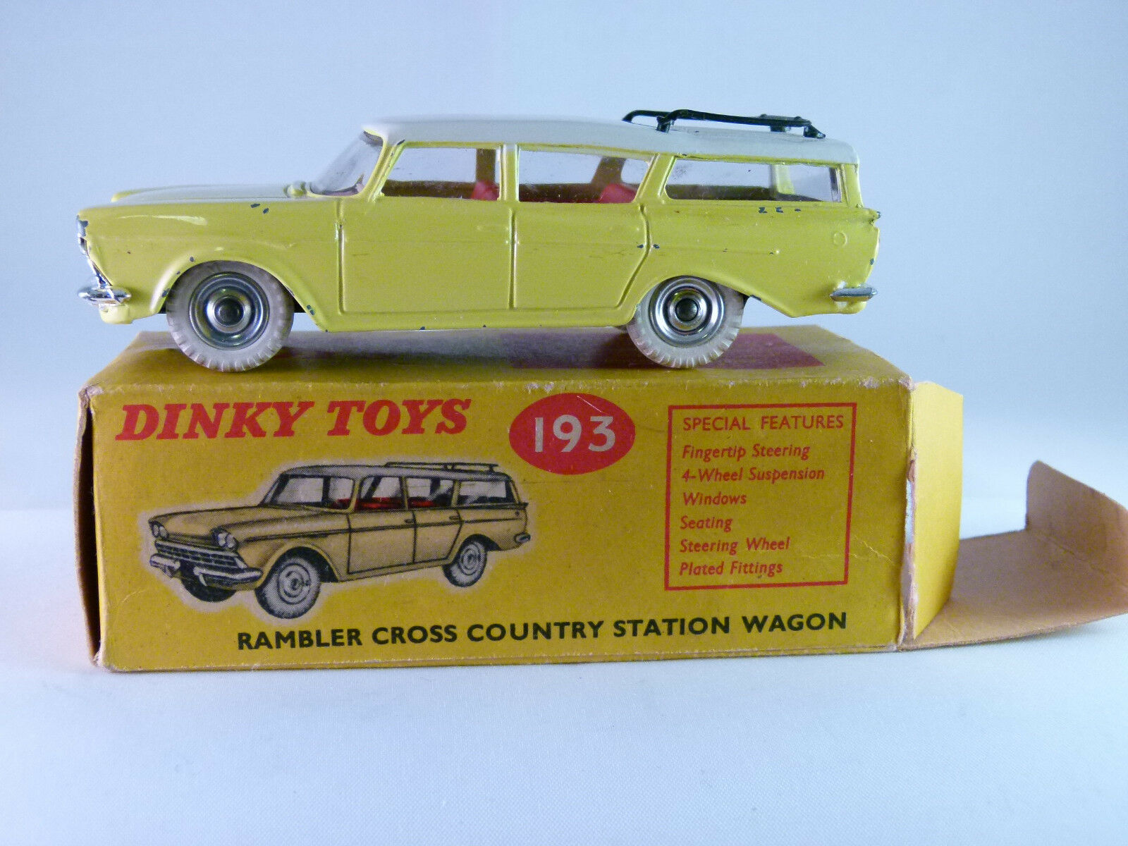 DINKY No 193 - Rambler Cross Country  - Boxed