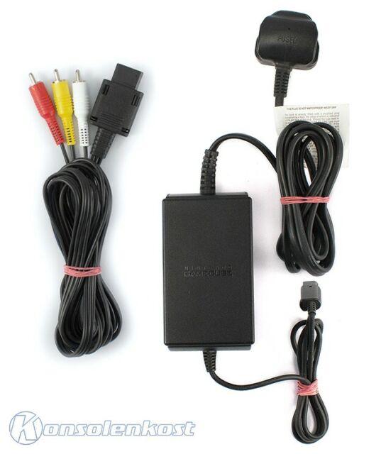 GameCube - equipment Set: AV RCA cable & power supply