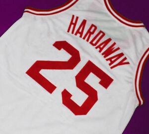 newest e0bf8 04f95 PENNY HARDAWAY #25 TREADWELL HIGH SCHOOL JERSEY WHITE SEWN ...