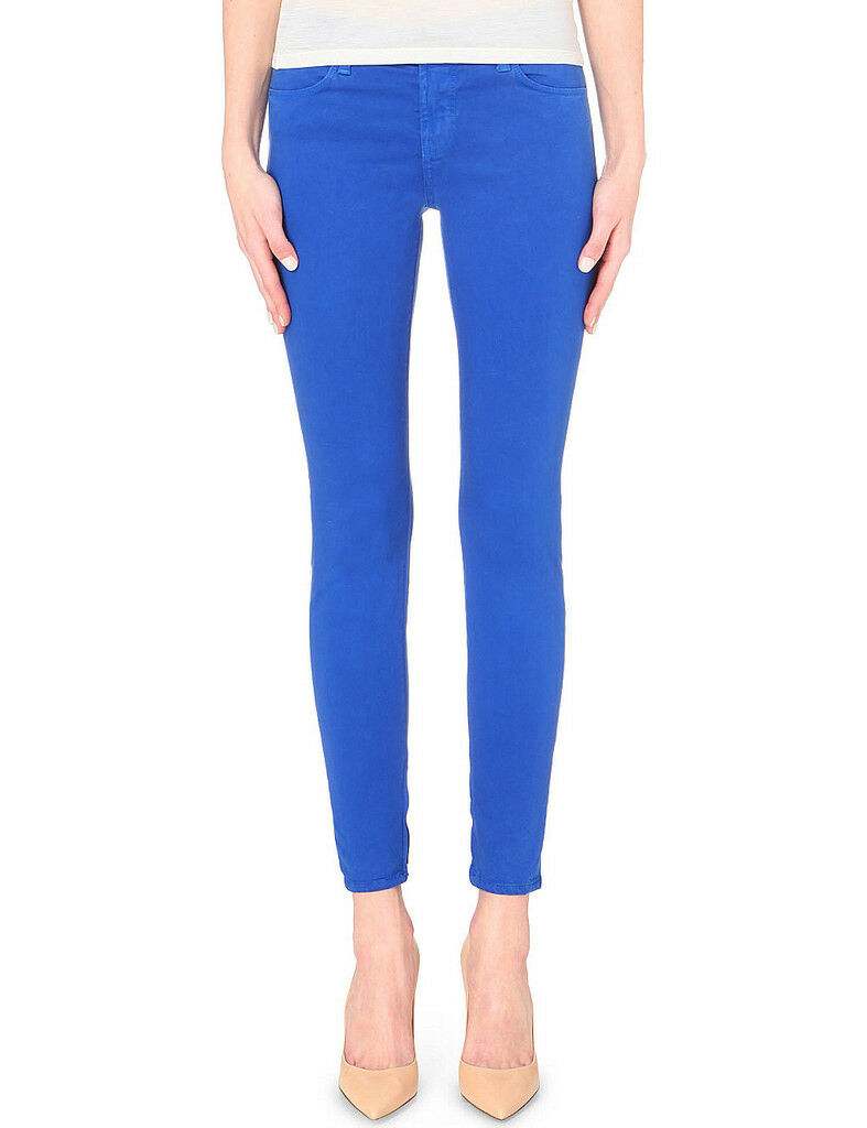 J BRAND Women's Luxe Sateen 8428V080 Jeans Elect bluee Size 25 RRP  218 BCF810