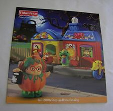 Fisher Price Little People FALL 2008 CATALOG Shop-at-Home Halloween Dolls Sets