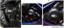 R&G ENGINE CASE COVER KIT (3 Covers) for TRIUMPH DAYTONA 675, 2013 to 2016