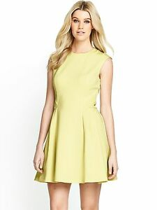 39294b404736c6 Image is loading Ted-Baker-Nistee-Skater-Dress-Size-5-12-