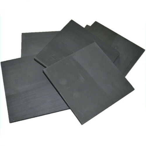 5 Pack 99.99/% Pure Graphite Electrode Rectangle Plate Sheet Decor Set 50*40*3mm