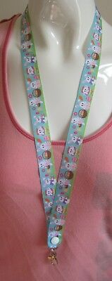 ID badges ribbon wildlife cute 2 sizes Butterfly lanyard breakaway ID holder