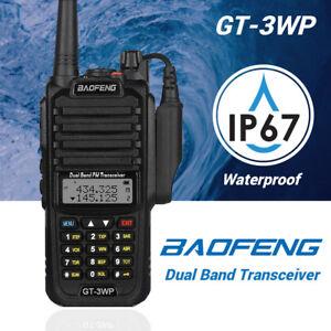 Nuevo-Baofeng-GT-3WP-V-U-Dual-Band-IP67-waterproof-CTCSS-DCS-FM-Radio-Emisora