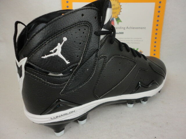 018378609e60 ... buy nike black air jordan 7 td retro jumpman football cleats shoes mens  11 45 ebay