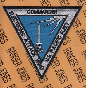 Details about USN Navy Commander Electronic Attack Wing US Pacific Fleet  pocket patch