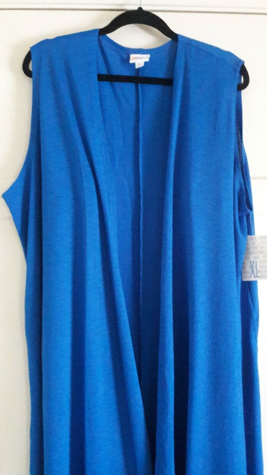 Lularoe Solid Royal bluee Joy Long Vest
