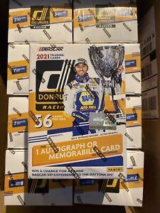 Panini Auto Donruss Racing Sports Trading Card Blaster Box Sealed.