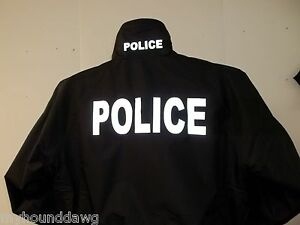 LAW-ENFORCEMENT-Light-Weight-Reflective-Jacket-Your-Choice-of-Prints-amp-Colors