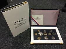 FRANCE COFFRET BE 2001 MONNAIE DE PARIS